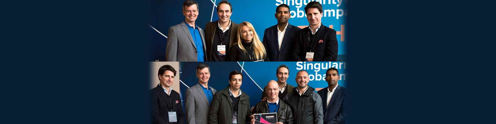 Glimpse of the pitch day – SingularityU Portugal Global Impact Challenge
